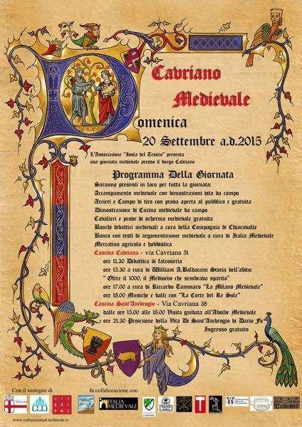 Cavriano Medievale 2015