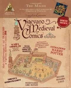 Vigevano Medieval Comics 2016 @ Vigenano   Vigevano   Lombardia   Italia