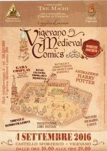 Vigevano Medieval Comics 2016 @ Vigenano | Vigevano | Lombardia | Italia