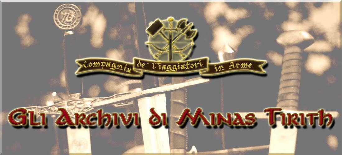 Archivi di Minas Tirith #1