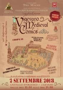 Vigevano Medieval Comics 2018 @ Castello Sforzesco | Lombardia | Italia